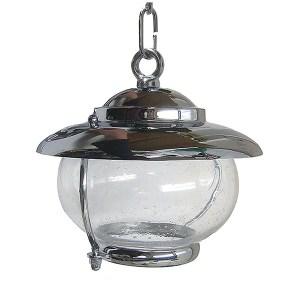Chrome Bubble Glass Pendant (C-5C) by Shiplights