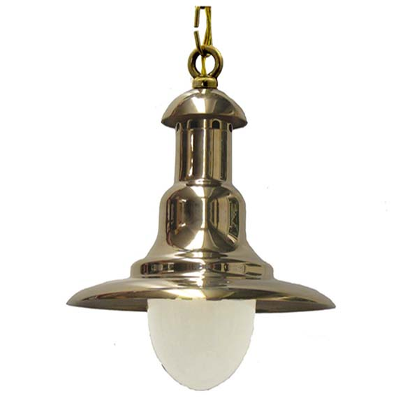 Shiplights Wharf Light in Unlacquered Brass (C-7)