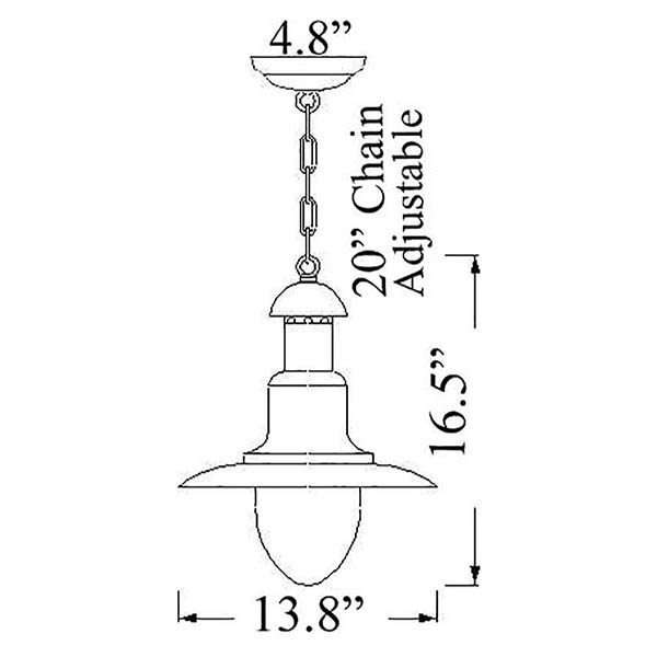 Shiplights Wharf Light Diagram (C-7)