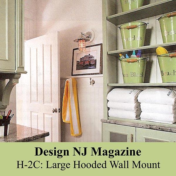 Nautical Bulkhead Wallmount in Design New Jersey Magazine