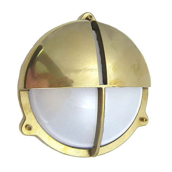 Brass Bulkhead Fittings with Internal Fixing Points (R-11) by Shiplights