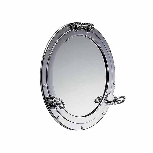 Chrome Plated Porthole Mirror