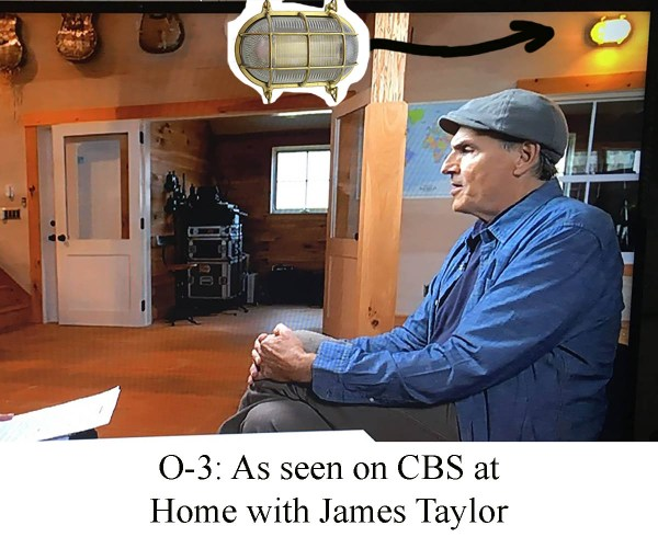 Industrial Lighting from CBS Morning Show with James Taylor (O-3) by Shiplights