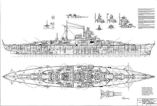 small resolution of plan battleship tirpitz jpg battleship tirpitz