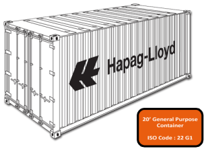 20'Dry Container