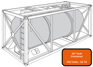 20' Tank Container (Tanktainer)