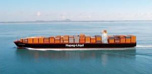 Image of Hapag Lloyd container vessel