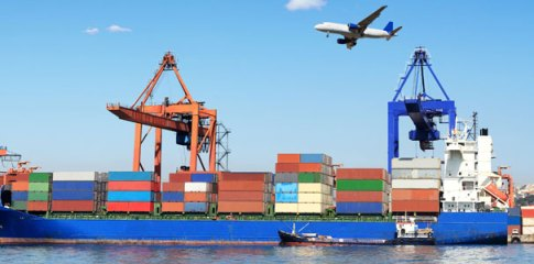 Image for sea freight vs air freight