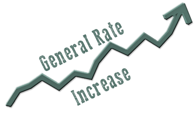What is General Rate Increase