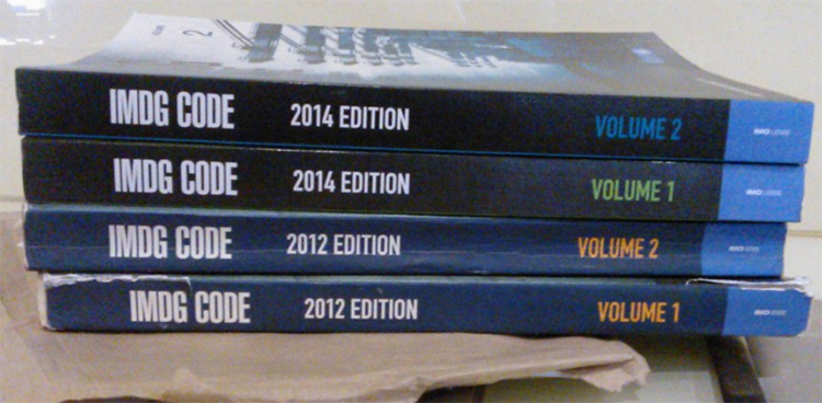 Image of IMDG Code books