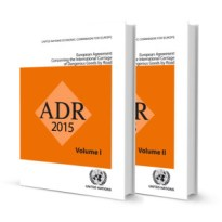 Image for ADR - European Agreement concerning the International Carriage of Dangerous Goods by Road