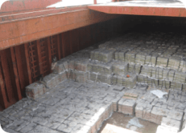 Bagged cement - bulk and break bulk
