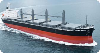 geared bulk vessel - bulk and break bulk