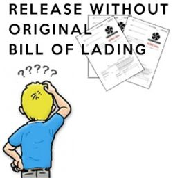 release without original bill of lading - COVID-19