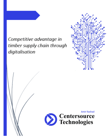 Centersource White Paper - Shipping and Freight Resource - digitalisation of timber supply chain