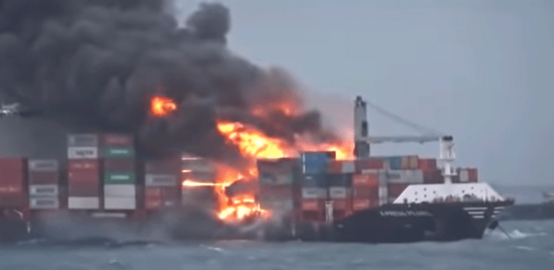 fire on board x-press pearl - shipping and freight resource