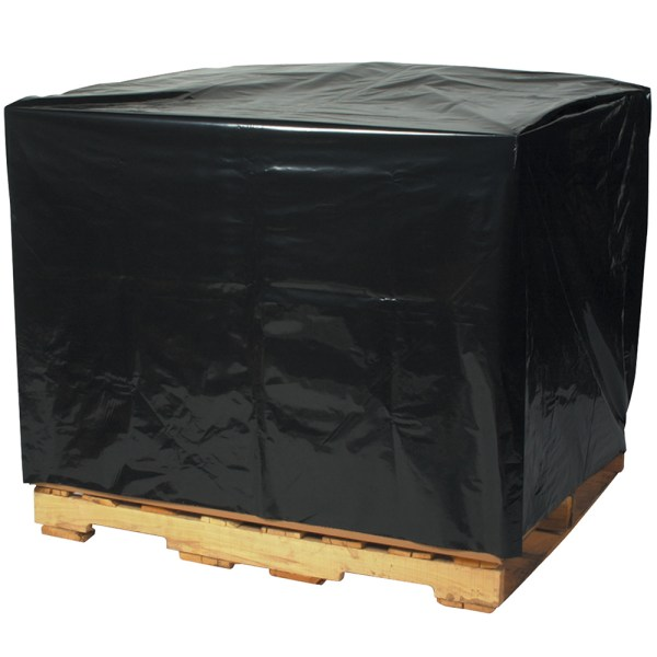 "54"" X 44"" 96"" - 2 Mil Black Pallet Covers"