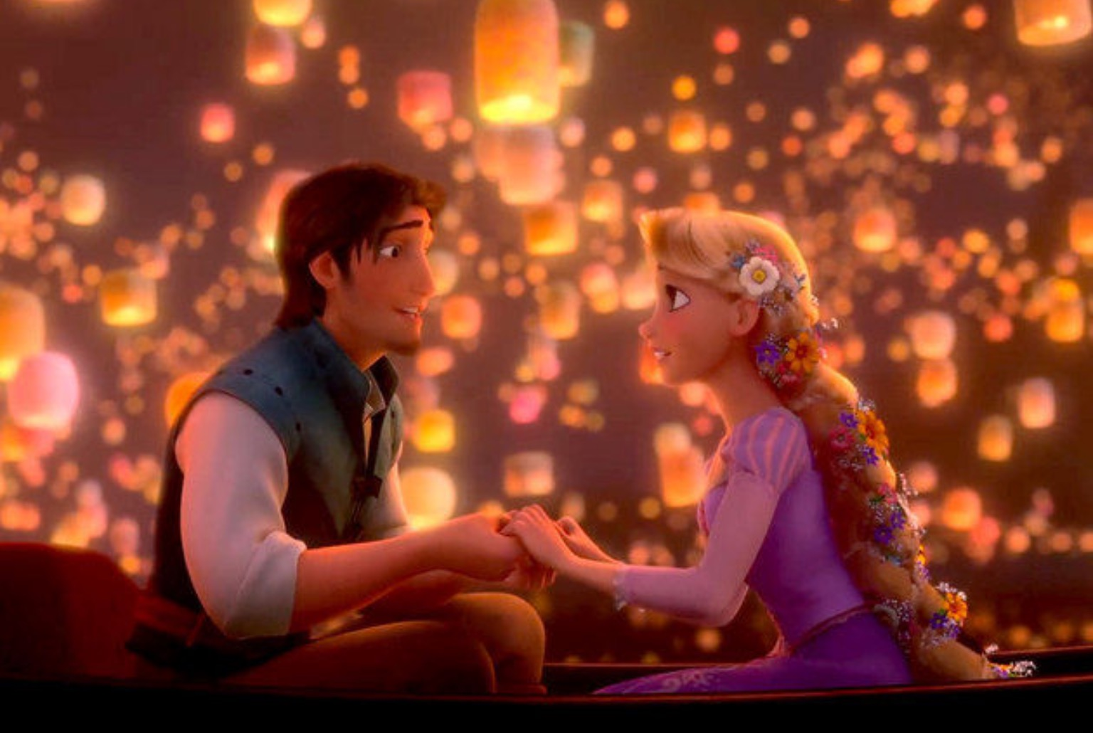 Wallpaper Girl On Boat 1440p Rapunzel S Lantern Festival September 23 Ship Saves