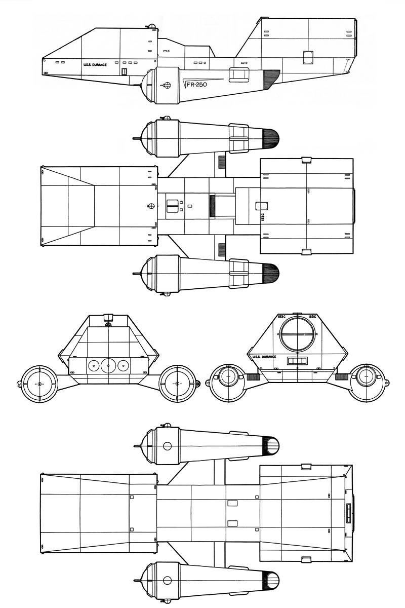 hight resolution of cargo transport tug durance