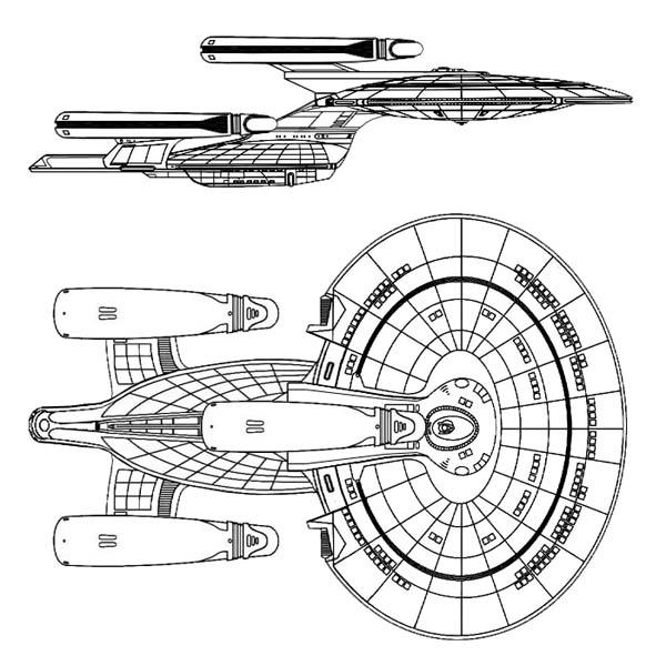 Star Trek Ship Schematics And Blueprints