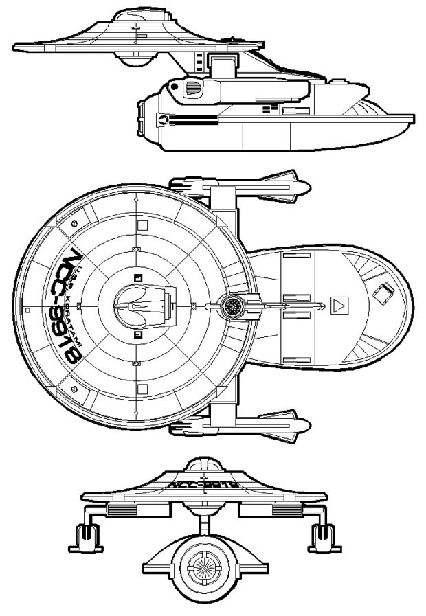 Flare Sci-Fi Forums: What's the WORST Fan Starship Design