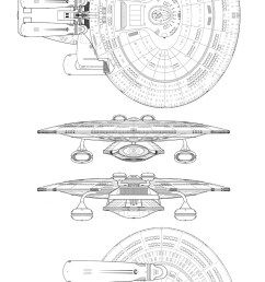 uss melbourne from the battle at wolf 359 in tng s best of both worlds pt ii  [ 1000 x 2188 Pixel ]