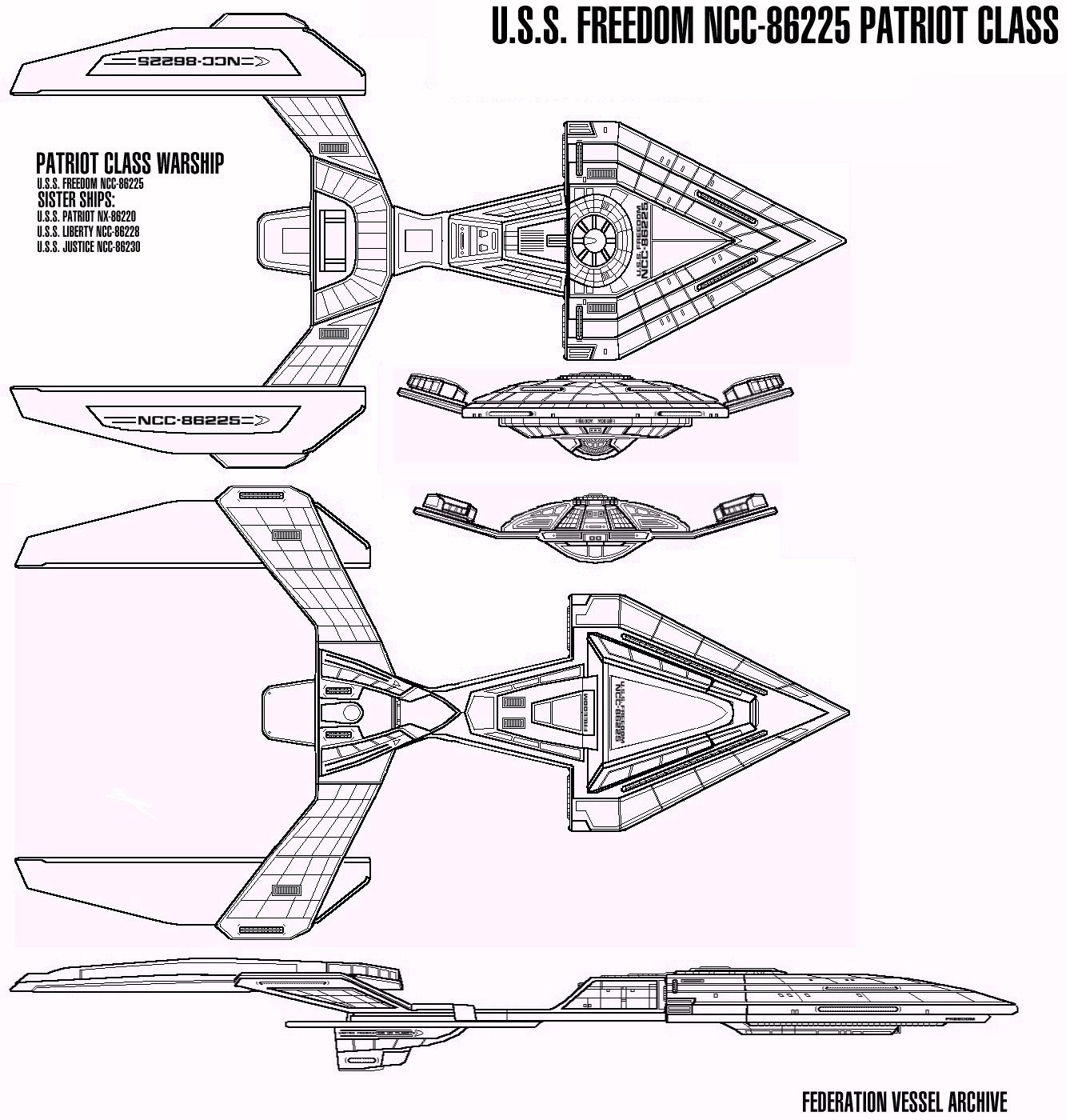 Starship Schematic Database Ufp And Starfleet All Ships