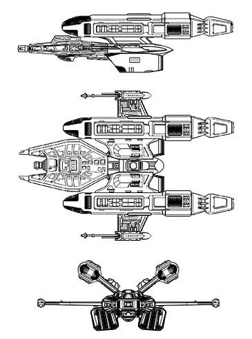 Star Trek Starship Schematics Star Trek Transport Shuttle