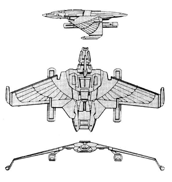 V-7 (Whitewind) Class IX-X Cruiser