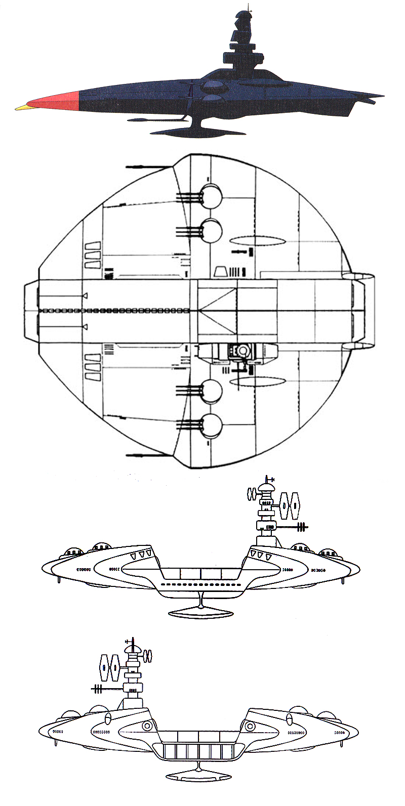 【地球防衛軍】アンドロメダ 2隻目【旗艦】