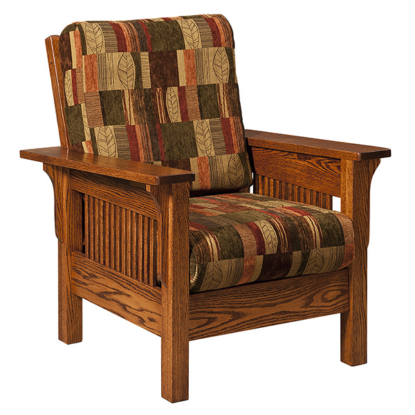 craftsman style chairs herman miller denver amish recliners furniture reclinerss lakeland chair