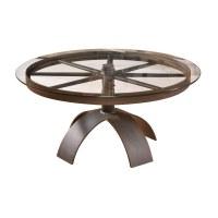 Wagon Wheel Coffee Table | The Wagon