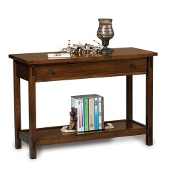 Amish Built Sofa Tables How Do I Clean Leather Centennial Table Shipshewana Furniture Co