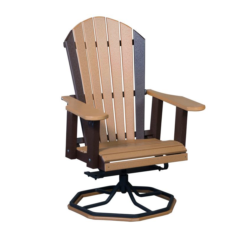 wishing chair photo frame yellow accent amish outdoor polyvinyl furniture polyvinyls adirondack w steel swivel base