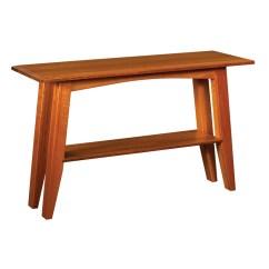 Amish Built Sofa Tables Jacksonville Ash Premium Fabric Foldable Futon Sleeper Bed Furniture Tabless Albany Table