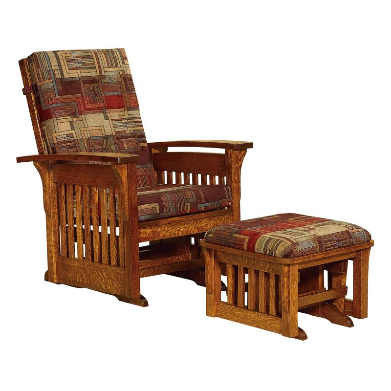 Amish Furniture Glider Rocker