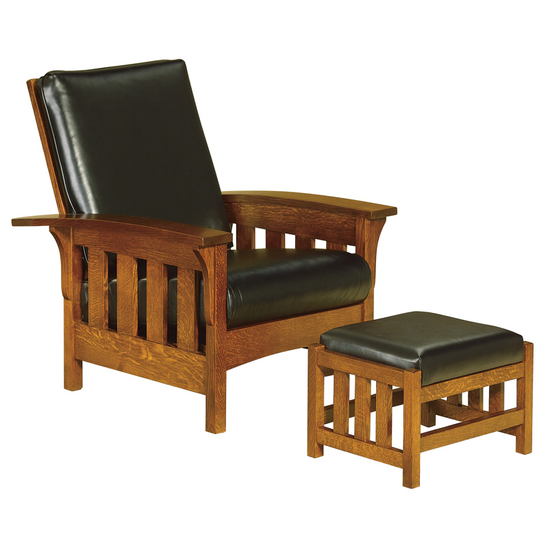 murphy chair company patio furniture replacement glides amish chairs recliners reclinerss bow arm slat morris