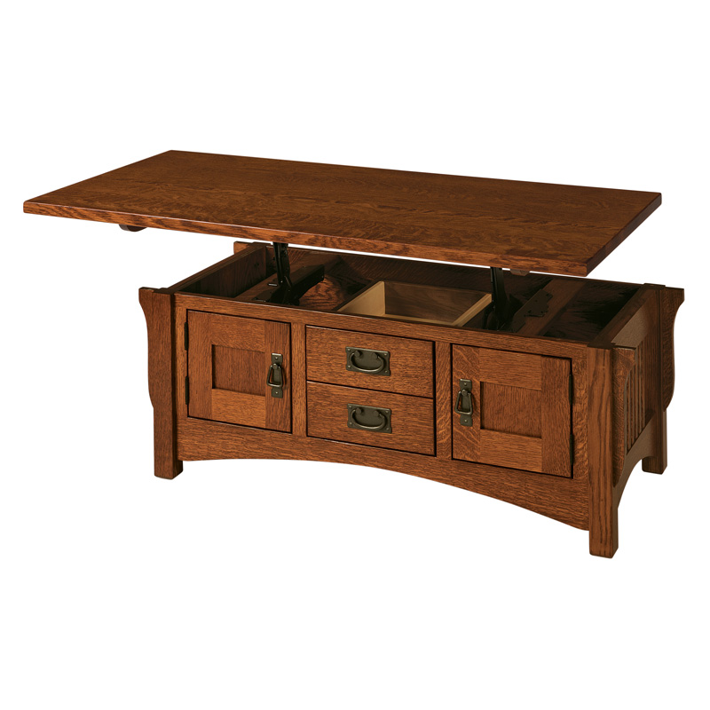 lombard lift top coffee table