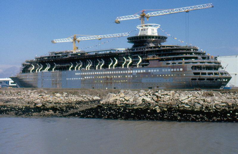 Afbeeldingsresultaat voor SOVEREIGN of the SEAS Saint-Nazaire