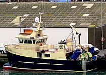 S 45 Sønderstrand, numera LL 91 Kristina. Bild: Trygve Eriksen