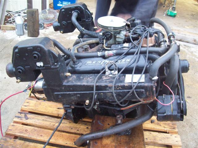 Mercruiser Trim Diagram Mercruiser 233 V8 Motor Engine For Sale Mercruiser 233 V8