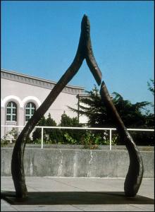 "Lori Kay ""Broken Wishbone"" sculpture"