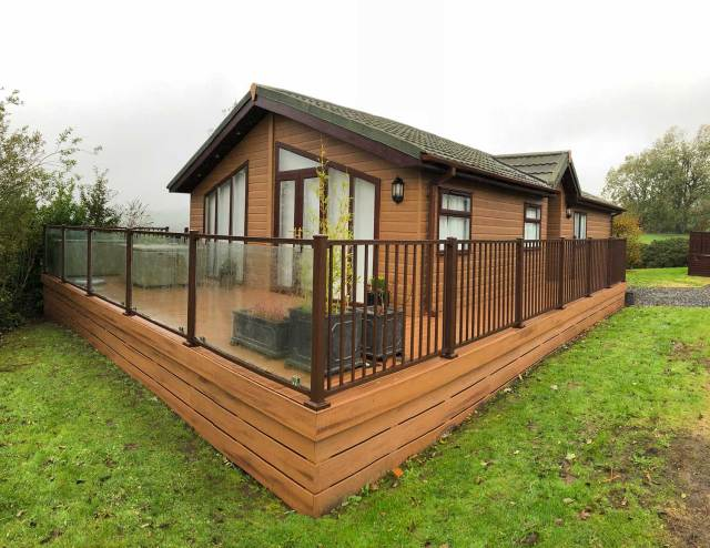 caravan decking cumbria