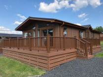 Photo of Lodge with new Cladding