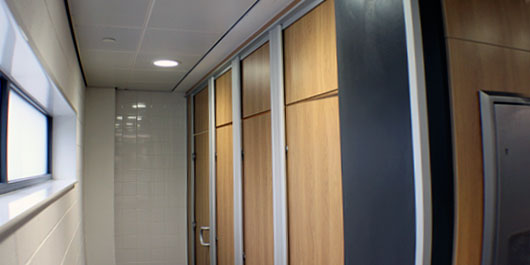Shire Integrated Systems Education Washroom Installations
