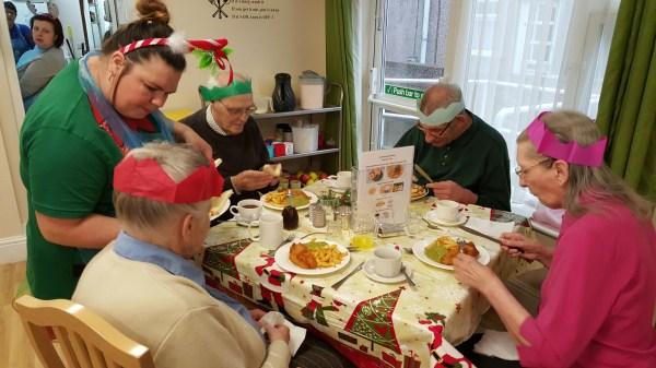 Shire Care Homes Christmas at Rivelin