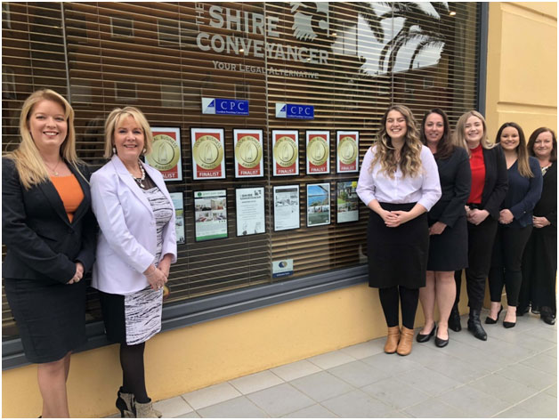 The Shire Conveyancer Team In Office