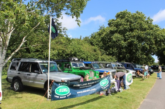 Club stand at Simply Land Rover