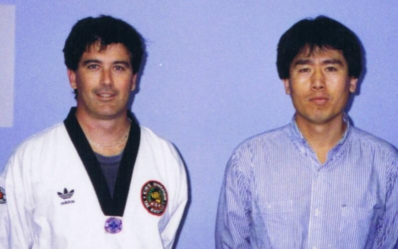 Gary Simmons & Master Ko