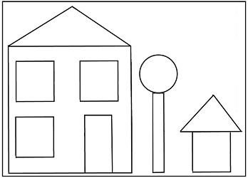 Shapes Math Game, Preschool Math Activities